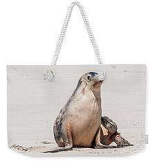 Sea Lion 1 Weekender Tote Bag by Werner Padarin