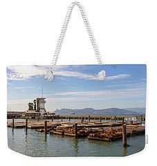 Sea Lions At Pier 39 In San Francisco Weekender Tote Bag