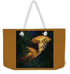 Sea Nettle Jellies Weekender Tote Bag by Thanh Thuy Nguyen