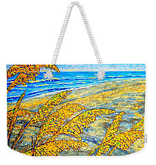 Sea Oats Dual#2 Weekender Tote Bag