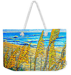 Sea Oat,dual #1 Weekender Tote Bag