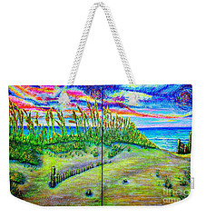 Sea Oats #2,dual Weekender Tote Bag