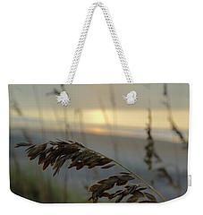 Sea Oats At Sunrise Weekender Tote Bag