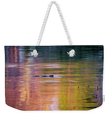Weekender Tote Bag featuring the photograph Sea Of Color by Bill Wakeley
