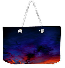 Weekender Tote Bag featuring the photograph Sea Of Colors by Eric Christopher Jackson