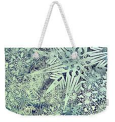 Sea Of Flakes Weekender Tote Bag