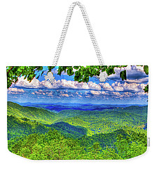 Sea Of Green Weekender Tote Bag
