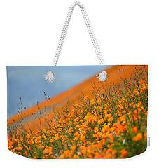 Sea Of Poppies Weekender Tote Bag by Kyle Hanson