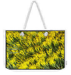 Sea Of Yellow Weekender Tote Bag
