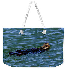 Sea Otter Weekender Tote Bag