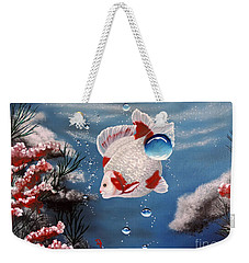 Sea Princess Weekender Tote Bag by Dianna Lewis