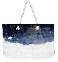 Sea, Satellite - Coast Line On Blue Ocean Illusion Weekender Tote Bag