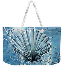 Sea Scalop Weekender Tote Bag