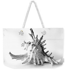 Weekender Tote Bag featuring the photograph Sea Shell by Gina Dsgn
