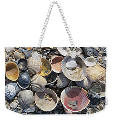 Sea Shell Mozaic Weekender Tote Bag
