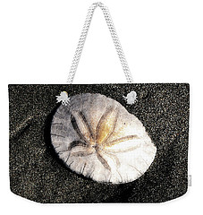 Weekender Tote Bag featuring the photograph Sea Shell by Norman Hall