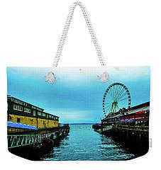 Sea Side, Seattle 2 Weekender Tote Bag