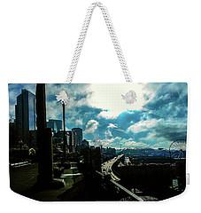 Sea Side, Seattle  Weekender Tote Bag