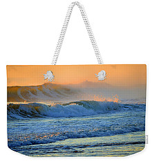 Sea Smoke Sunrise Weekender Tote Bag by Dianne Cowen