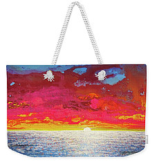 Sea Splendor Weekender Tote Bag by Mary Ellen Frazee