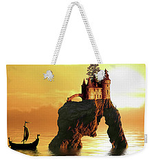 Sea Stack Castle Weekender Tote Bag