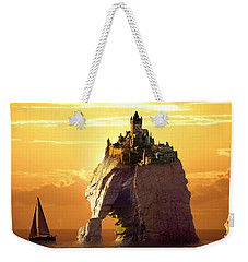 Sea Stack Weekender Tote Bag