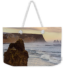 Weekender Tote Bag featuring the photograph Sea Stack II by Allen Biedrzycki
