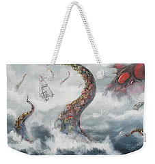 Sea Stories Weekender Tote Bag by Mariusz Zawadzki