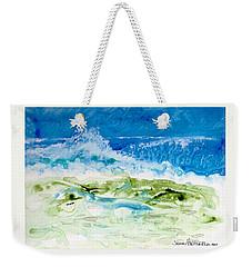 Sea Storm Weekender Tote Bag by Joan Hartenstein