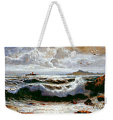Sea Storm Weekender Tote Bag
