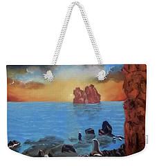 Sea Sunset Weekender Tote Bag