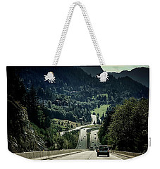 Sea To Sky Highway Weekender Tote Bag