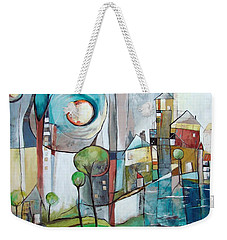 Sea Town Weekender Tote Bag