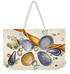 Sea Treasures - Northern California Weekender Tote Bag