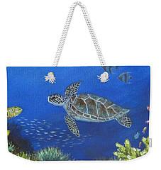 Sea Turtle 2 Weekender Tote Bag