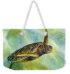 Sea Turtle 2 Weekender Tote Bag