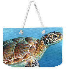 Sea Turtle 2 Of 3 Weekender Tote Bag