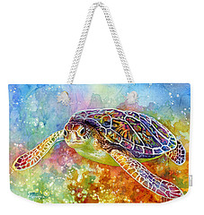 Sea Turtle 3 Weekender Tote Bag