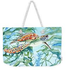Sea Turtle Series #1 Weekender Tote Bag