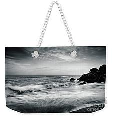 Sea Waves On The Beach Weekender Tote Bag