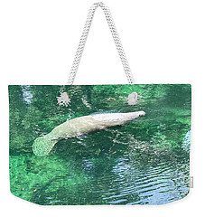 Sea Whale Weekender Tote Bag