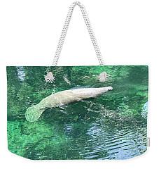Sea Whale Weekender Tote Bag