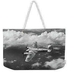 Weekender Tote Bag featuring the photograph Seac Beaufighter Bw Version by Gary Eason