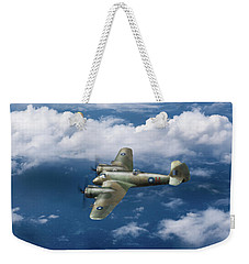 Weekender Tote Bag featuring the photograph Seac Beaufighter by Gary Eason