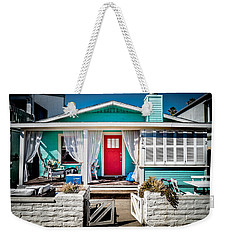 Weekender Tote Bag featuring the photograph Seafoam Shanty by T Brian Jones