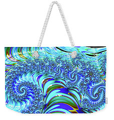 Seaglass Dragon Weekender Tote Bag