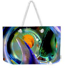 Seaglass Invert 6 Weekender Tote Bag by Randall Weidner