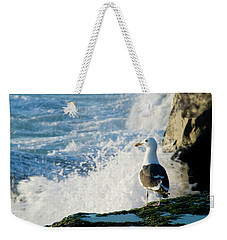 Seagull And The Sea Weekender Tote Bag