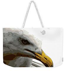 Seagull Closeup Weekender Tote Bag