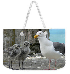 Seagull Family Weekender Tote Bag